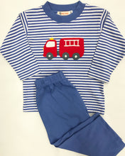 Firetruck Applique Tee