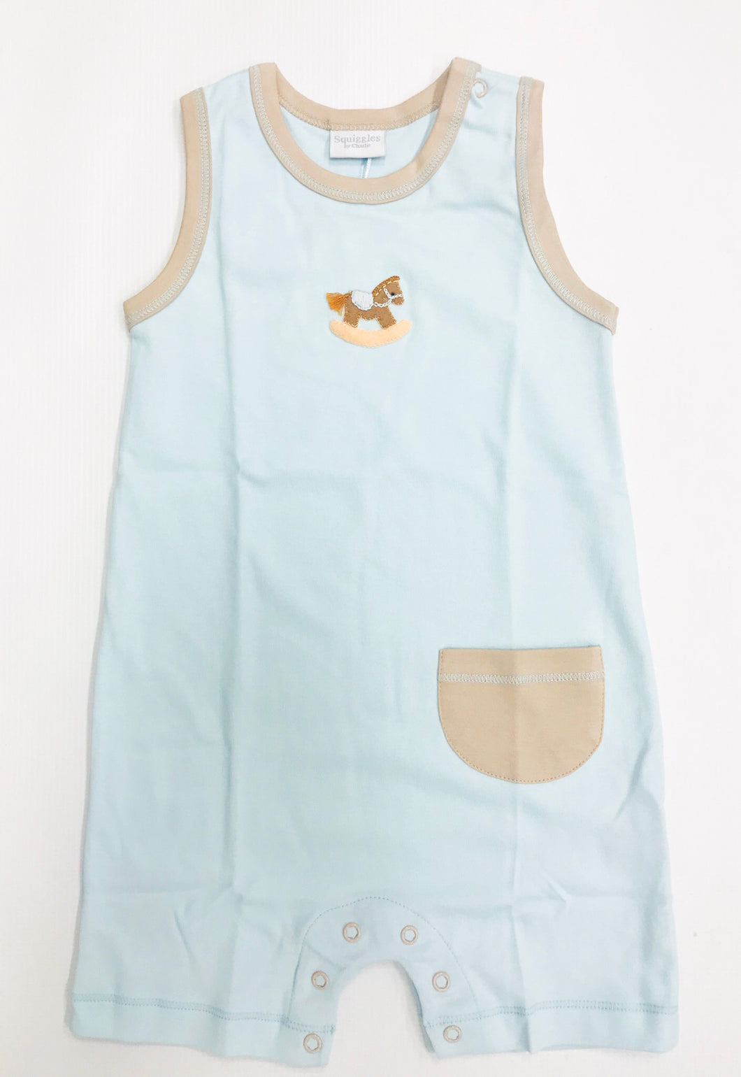 Rocking Horse Sleeveless Romper
