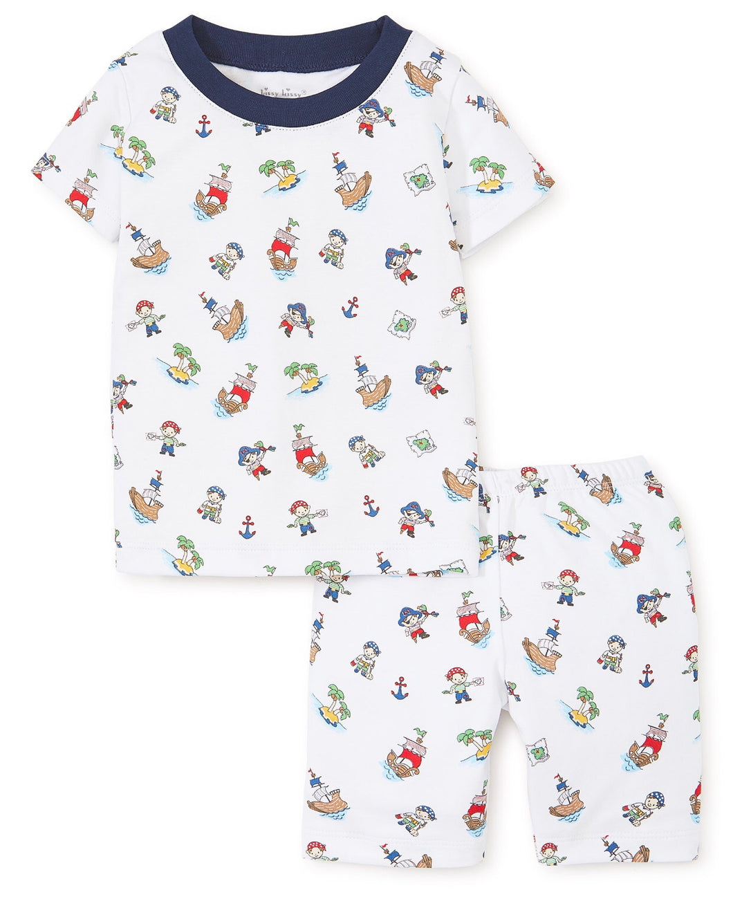 Pirate Treasure Short Sleeve Pajama Set