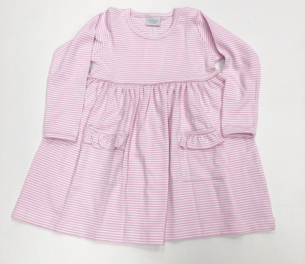 Light Pink Stripe Popover