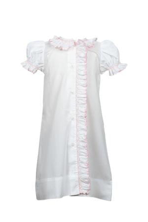Smocked Pink Daygown