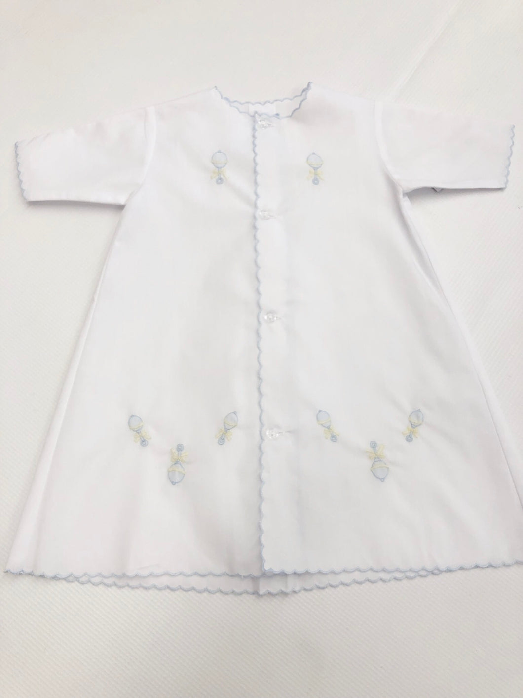 Blue Rattle Daygown