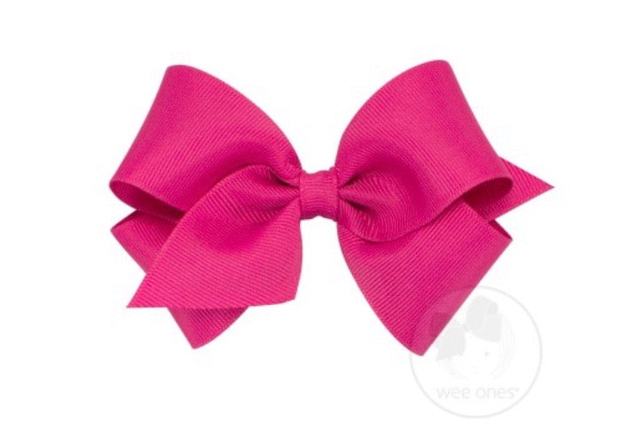 Small WeeOnes Grosgrain Bow