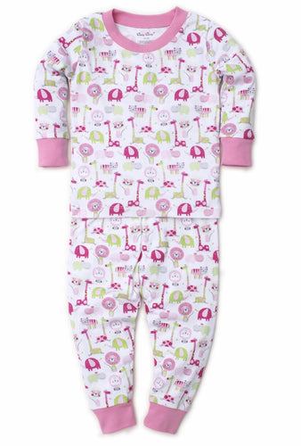 Pink Jazzy Jungle Pajama Set