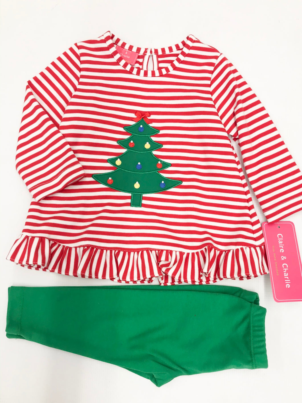 Christmas Tree Legging Set