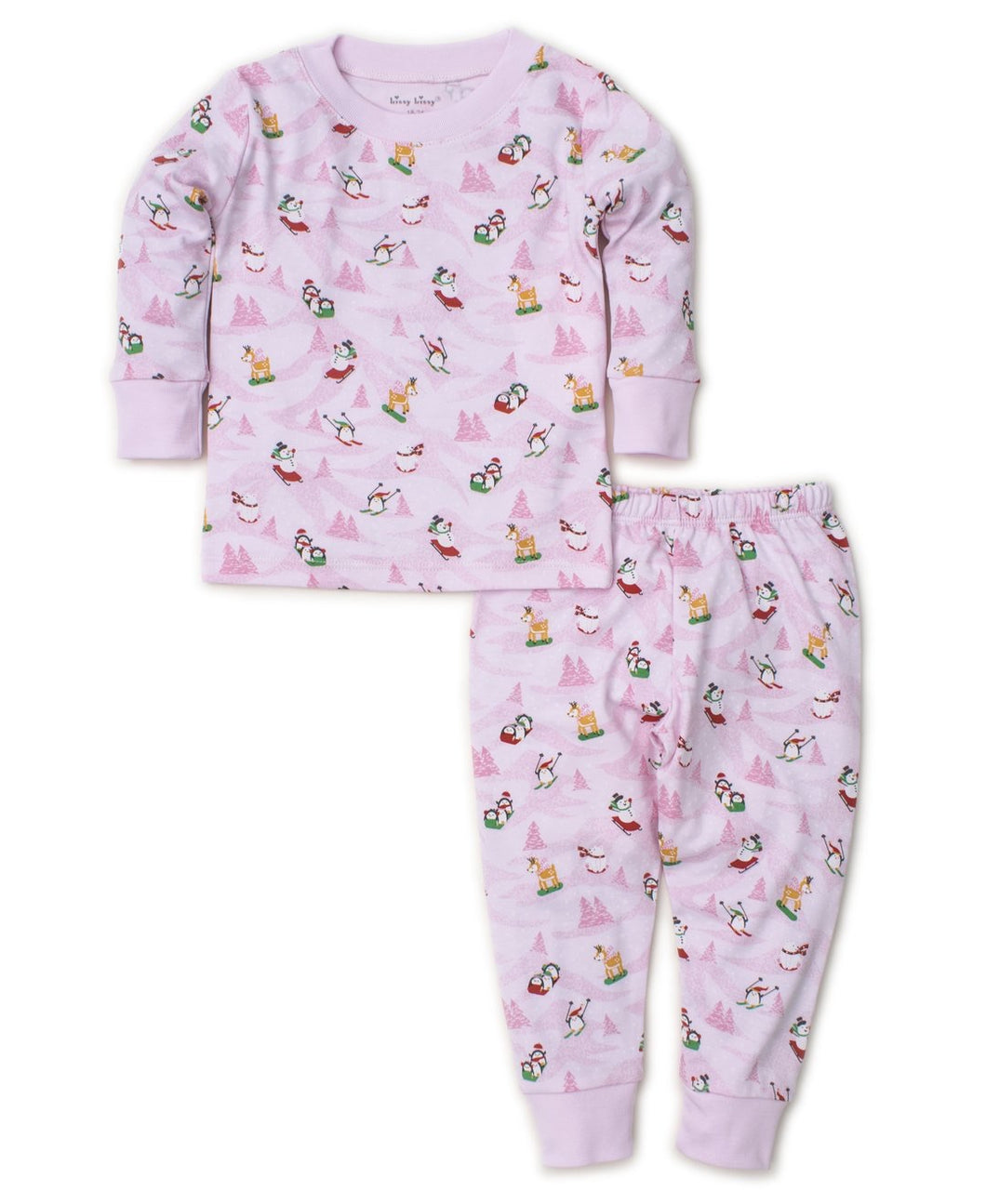 Pink Frosty Friends Pajama Set