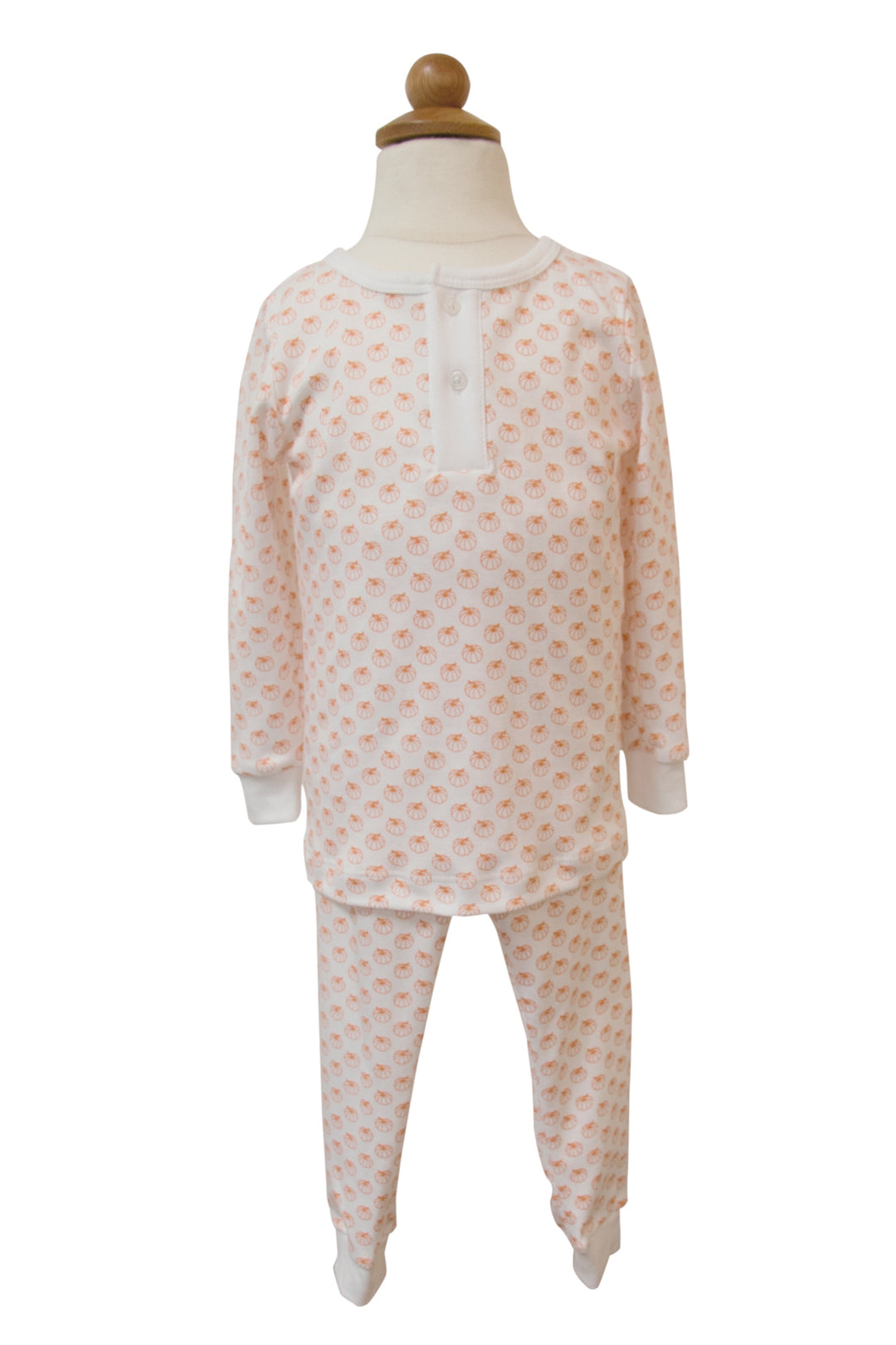Boy's Pumpkin 2pc Pajama Set