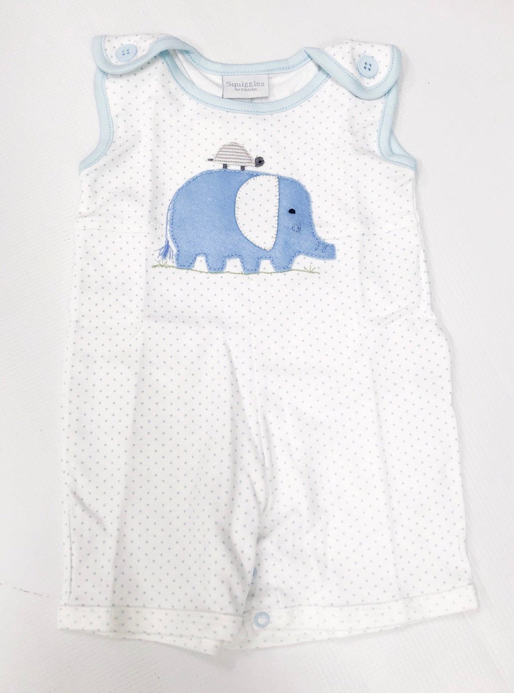 Elephant/Turtle Sunsuit