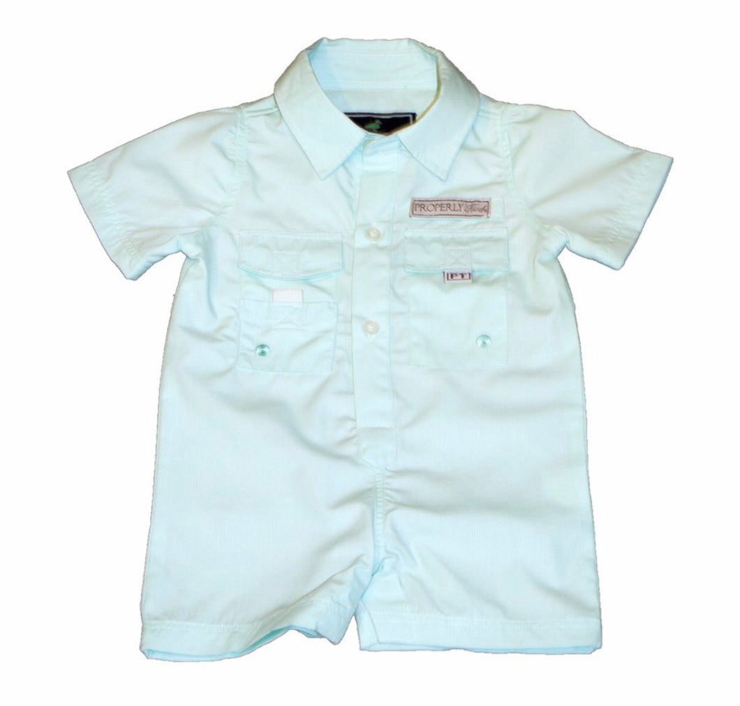 Seafoam Performance Fishing Shortall