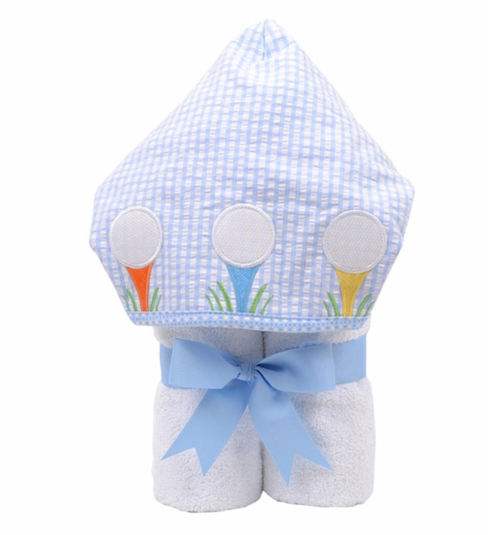 Golf Everykid Towel w/ Applique