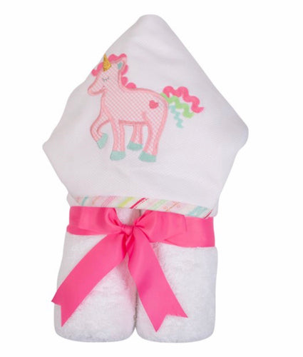 Unicorn Everykid Towel w/ Applique