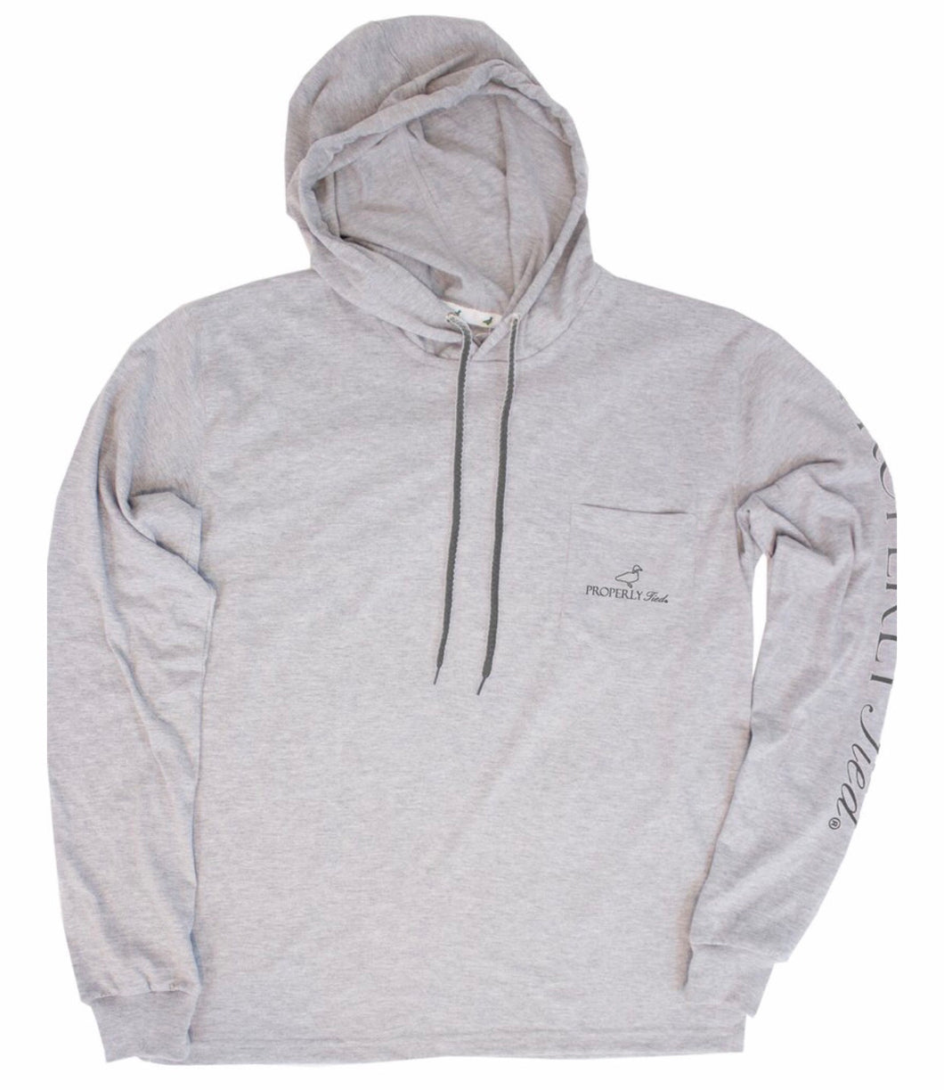 Gulf Hoodie - Light Heather Grey