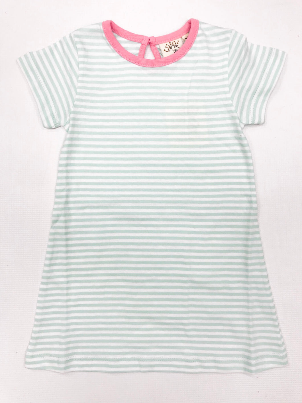 Jade/Bubblegum A-Line Dress