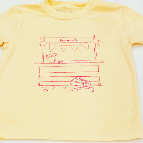 Yellow Lemonade Stand T-Shirt