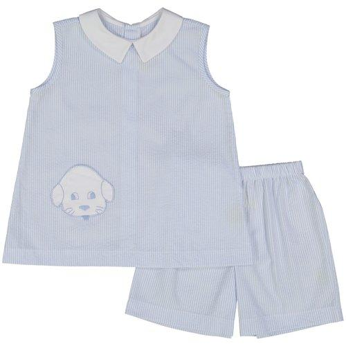 Puppy Apron/Short Set