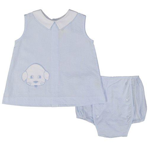 Puppy Apron and Bloomer Set
