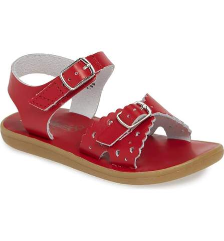 Apple Red Ariel Sandal