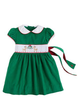 Reindeer Smocked Charolette Dress