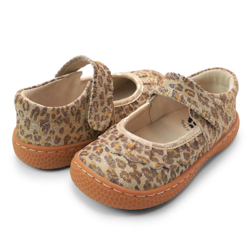 Ruche Mary Jane-Leopard Shimmer