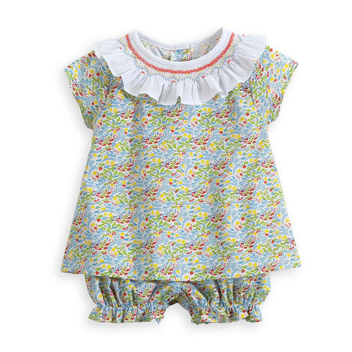 Smocked Bloomer Set - Palm Beach Floral