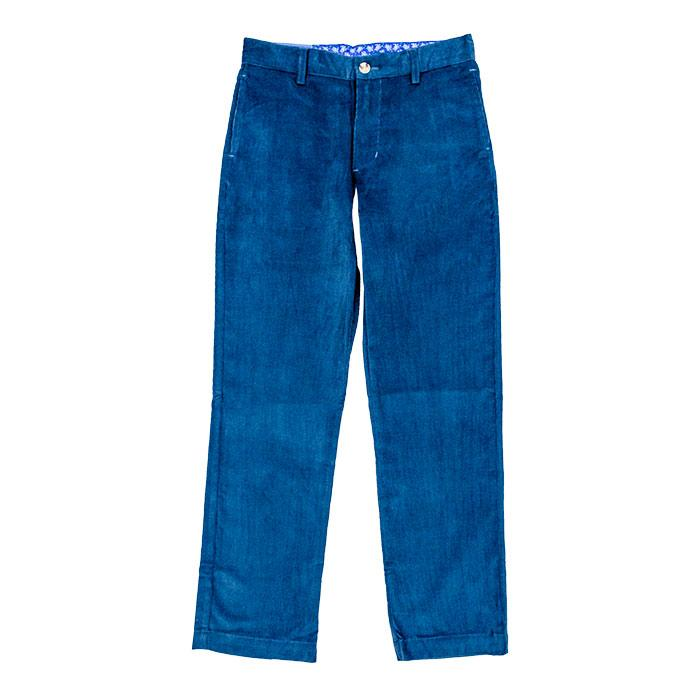 Steel Blue Corduroy Pants
