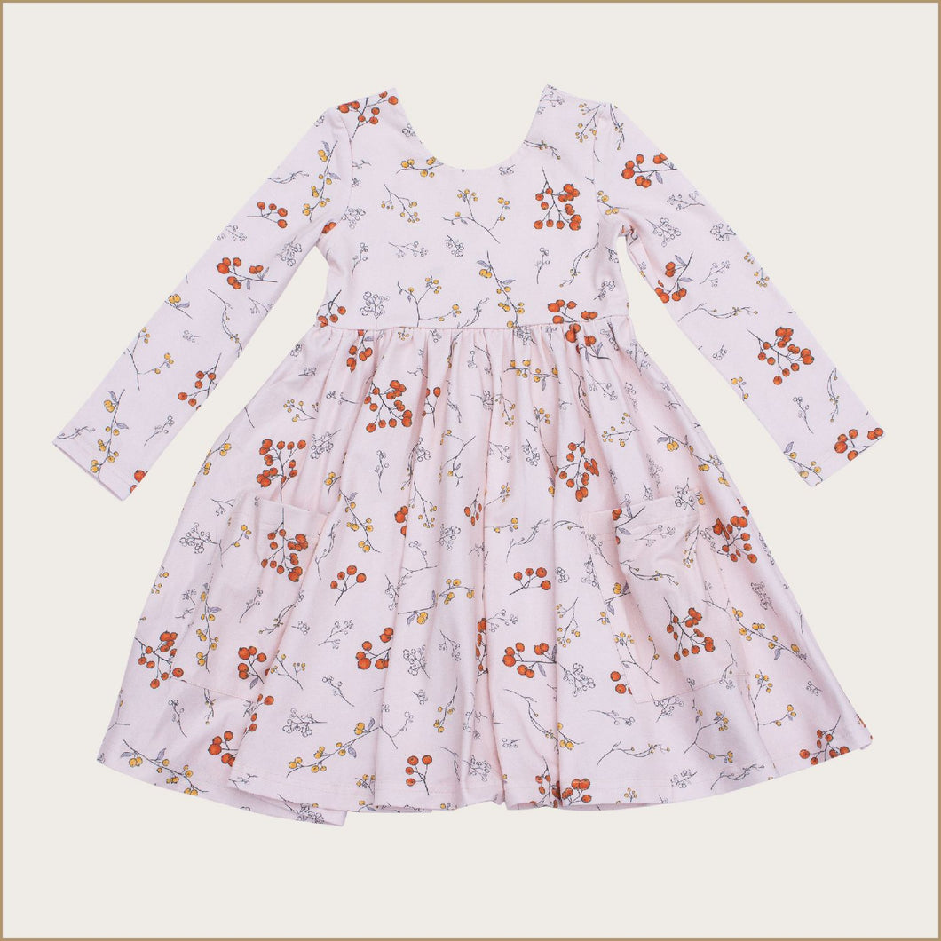 Winter Berries Charming Twirl Dress