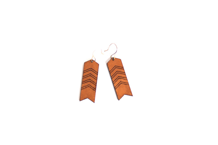 Diffuser Earrings Nomad Chevron