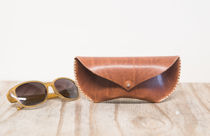Vagabond Glasses Case Redwood