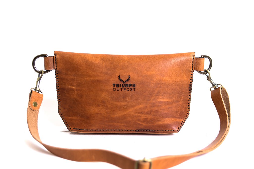 Nomad Hip Purse - Cognac