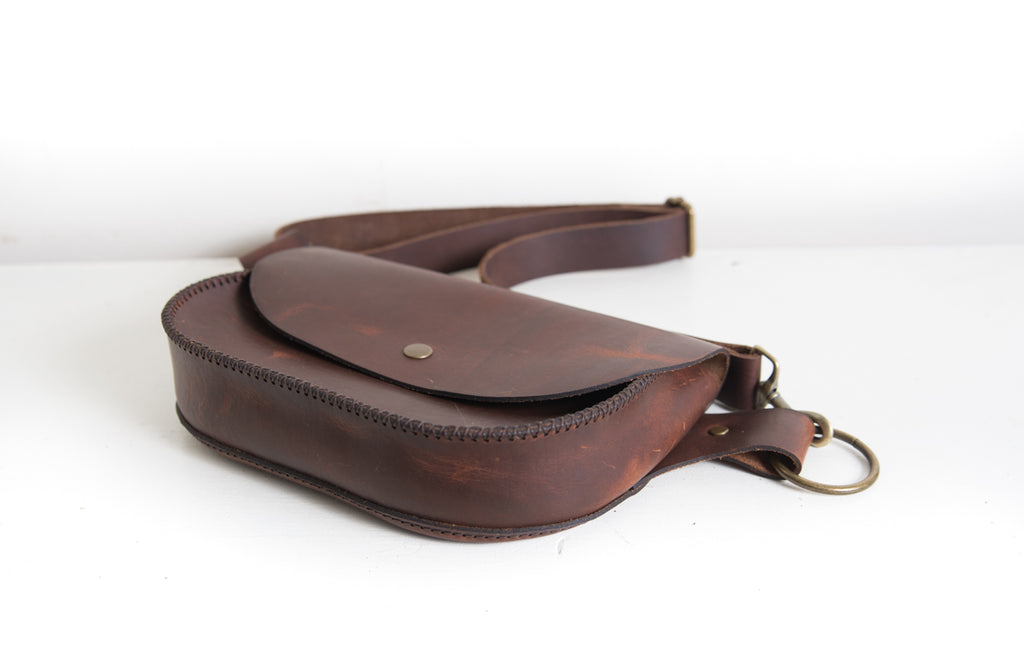 Wanderlust Hip Purse - Tobacco