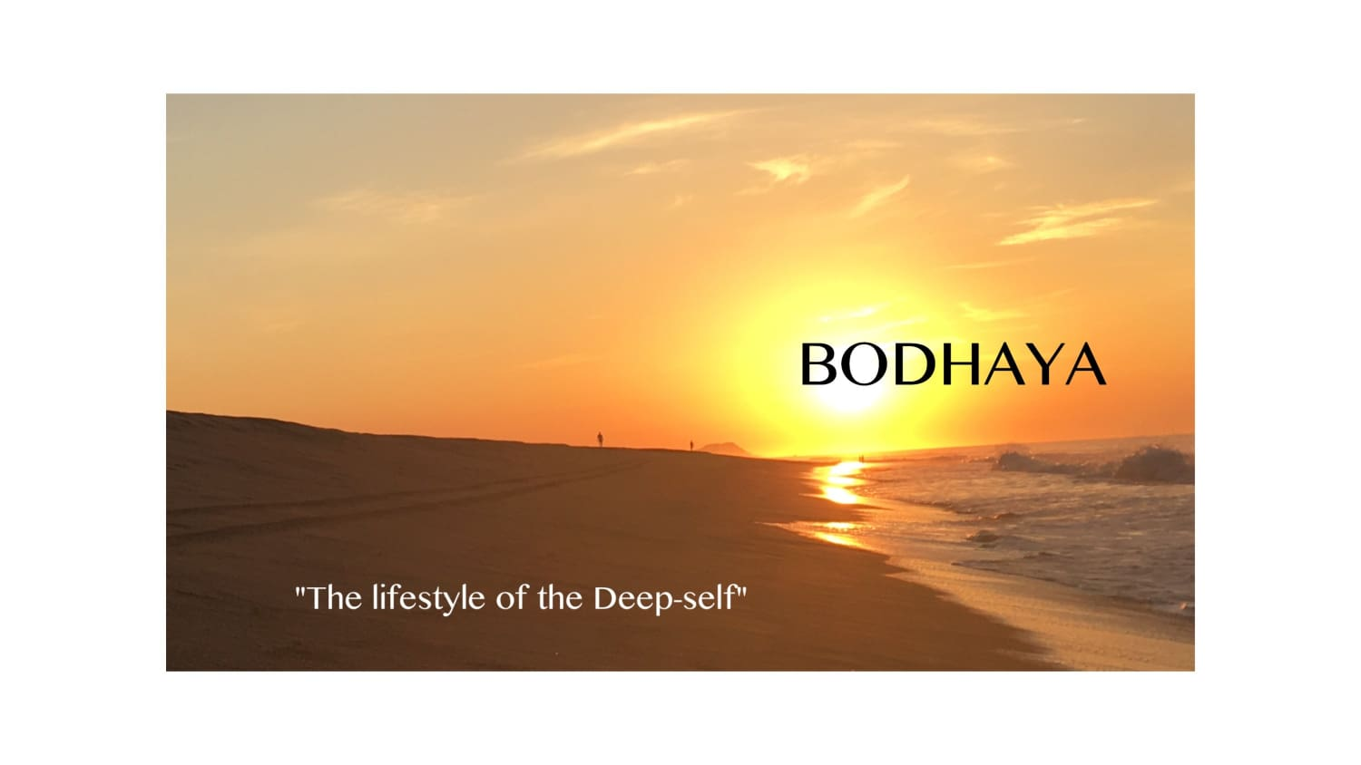 Welcome to Bodhaya!