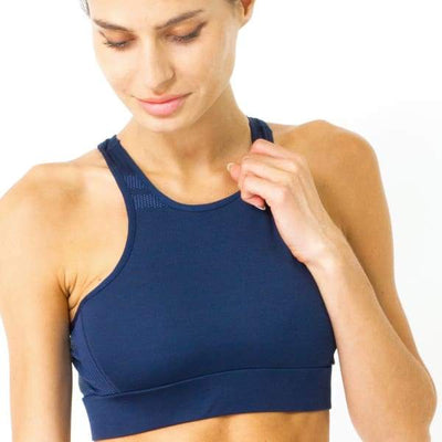 Ashton Sports Bra - Navy Blue - Sports & Entertainment - Sports Clothing - Sports Bras