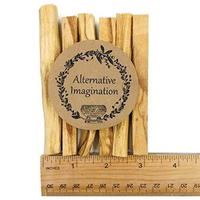 Alternative Imagination Premium Palo Santo Holy Wood Incense Sticks for Purifying Cleansing Healing Meditating Stress Relief. 100% Natural