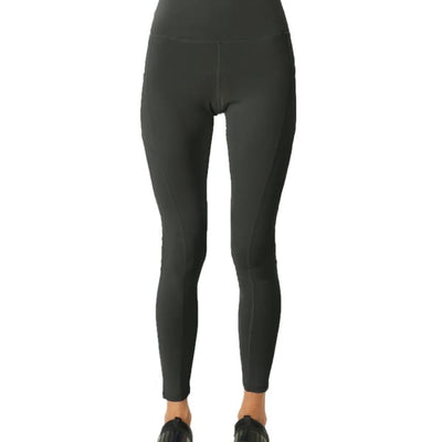 High Waisted Yoga Leggings - Slate Grey - Sports & Entertainment - Sports Clothing - Pants