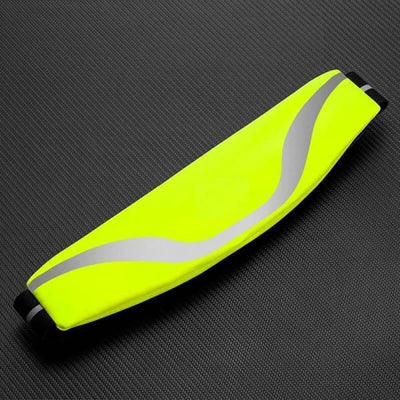 Water-Resistant Sport Waist Pack Running Belt With Reflective Strip - Yellow - Sports & Entertainment