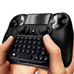 PS4 Wireless Bluetooth Keyboard Online Chatpad for Dual Shock 4 Controller