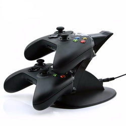 Elite Xbox One Controller Charging Station With 2 USB Charger Docks, LED Indicator