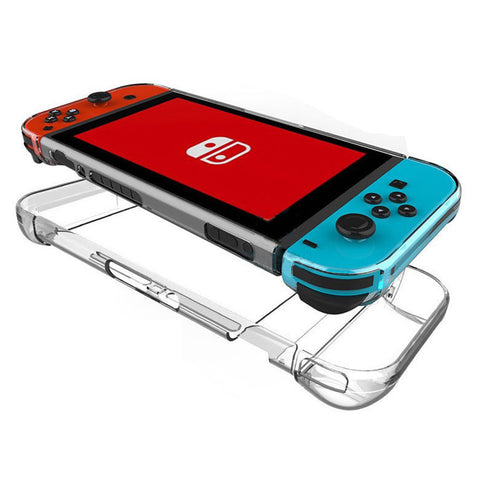 Nintendo Switch Hard Back Case Cover, Anti-Scratch, Shock-Absorption, Transparent