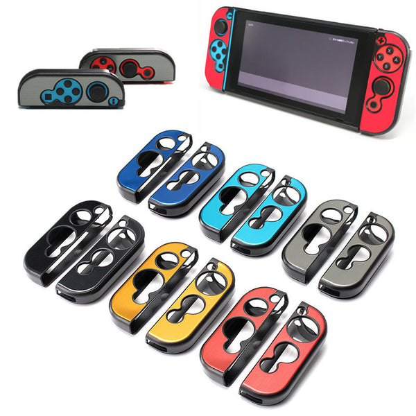 Aluminum Metal Protective Hard Case Cover For Nintendo Switch Joy-Con Controller