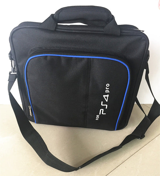 Multi-Function Travel Case for Carrying PlayStation 4 Pro, Games, Accessories