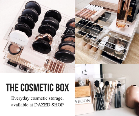 storage makeup organiser cosmetic beauty 2018 blog australian dazed