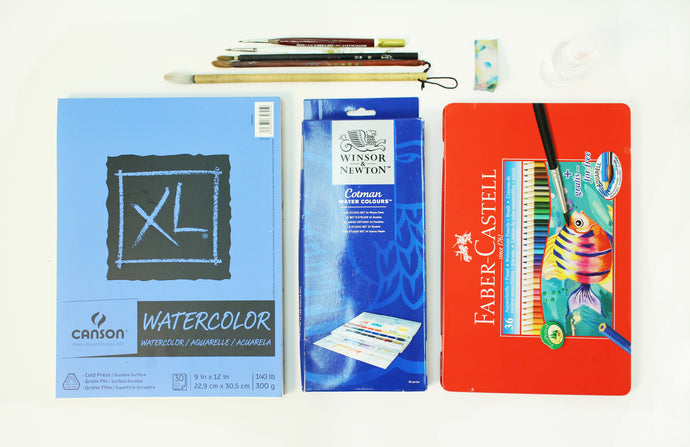 Watercolour Supplies
