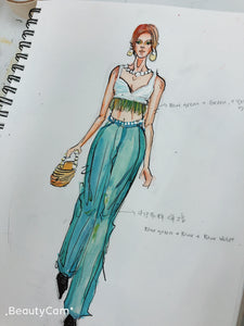 Fashion Illustration  (9/8-11/10)
