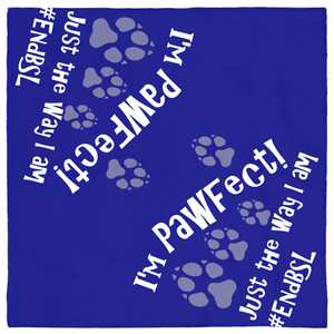 I'm PAWfect #EndBSL - Pet Bandanas Default Title  - Little Pit Shop