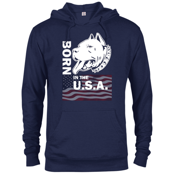 Born in the USA - 97200 Delta French Terry Hoodie Dark Navy X-Small - Little Pit Shop