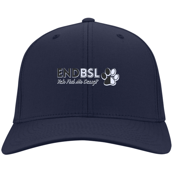 End BSL - CP80 Port & Co. Twill Cap By Little Pit Shop Navy One Size - Little Pit Shop