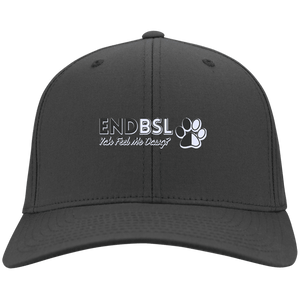 End BSL - CP80 Port & Co. Twill Cap By Little Pit Shop Charcoal One Size - Little Pit Shop
