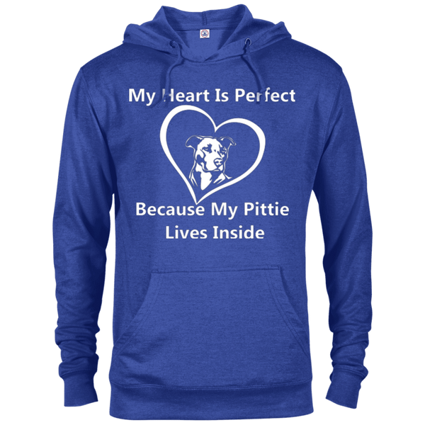 My Heart - 97200 Delta French Terry Hoodie Dark Royal Heather X-Small - Little Pit Shop