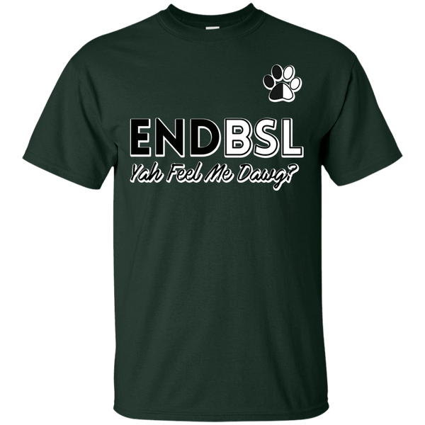 End BSL - G200 Gildan Ultra Cotton T-Shirt Forest Green Small - Little Pit Shop