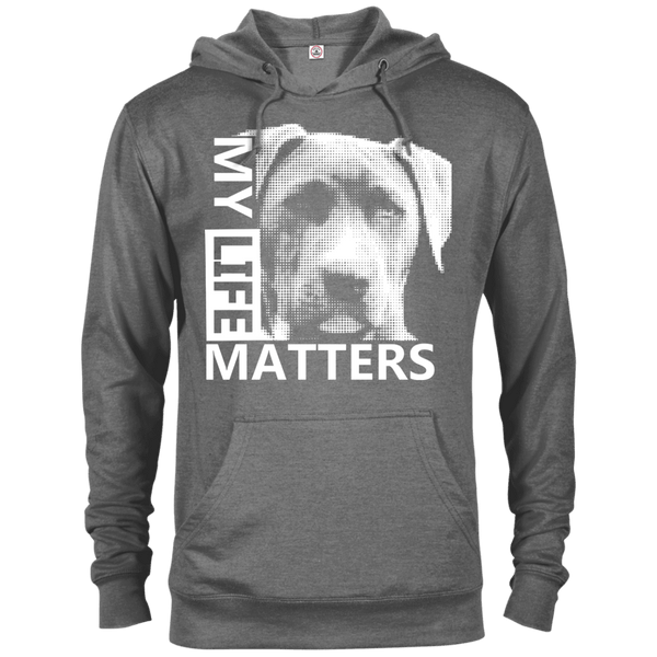 My Life Matters - 97200 Delta French Terry Hoodie Dark Graphite Heather X-Small - Little Pit Shop